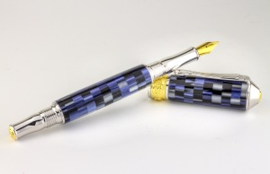 Handcrafted Fountain Pen by Greco Woodcrafting